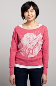 Companion: Threadless Girly Loose Thermal Raglan, Girly Select - 40% Off Winter Collection + Threadless Collection