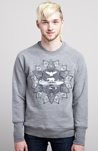 Northern Star: Threadless Guys French Terry Pullover, Guys Select - 40% Off Winter Collection + Threadless Collection
