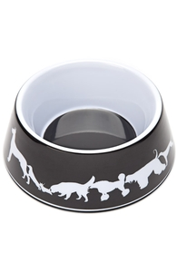 Sniffer's Row: Threadless Pet Bowl, Pet Bowls + Threadless Collection