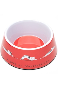 (Cat)erpillar: Threadless Pet Bowl, Pet Bowls + Threadless Collection