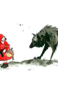 Red Riding Hood, Lora's Tee Designs + Threadless Collection