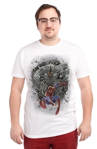 Catch Me if You Can, Spider-Man Tees + Threadless Collection