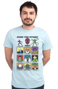 Spider Fighter 8-Bit, Spider-Man Tees + Threadless Collection