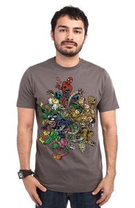 Entanglement Theory, Spider-Man Tees + Threadless Collection