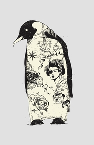 Penguin Tattoo Hero Shot