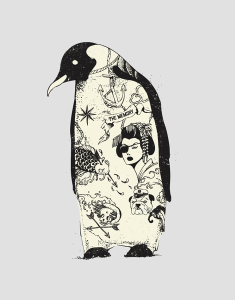 Penguin Tattoo Hero Shot