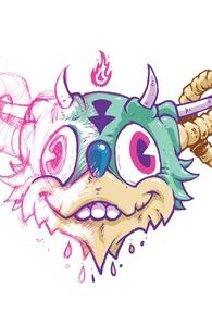 Doodle Demon Hero Shot
