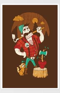 Green Thumberjack Hero Shot