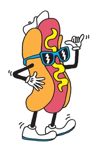 Hot Doggin', Will's Designs + Threadless Collection