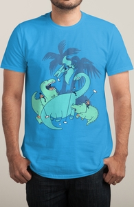 Polo with Dinosaurs Hero Shot