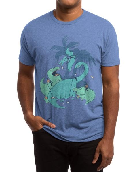 Polo with Dinosaurs Hero Shot