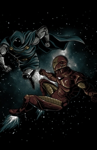 Iron Man vs. Doctor Doom Hero Shot