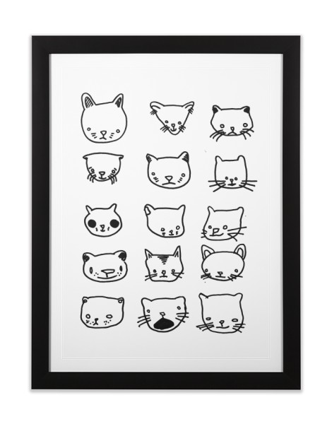 Drunken Cat Drawings Hero Shot