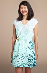 Sea Salt: Girly Poplin Dress, Select Girly + Threadless Collection