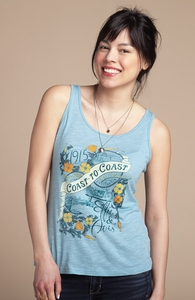 Coast to Coast: Girly Summer Tank, Select Girly + Threadless Collection