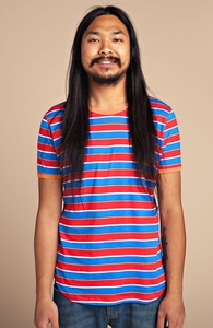 Origins: Guys Pima Ringer Tee, Select Guys + Threadless Collection