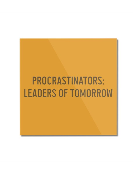 Procrastinators: Leaders of Tomorrow Hero Shot