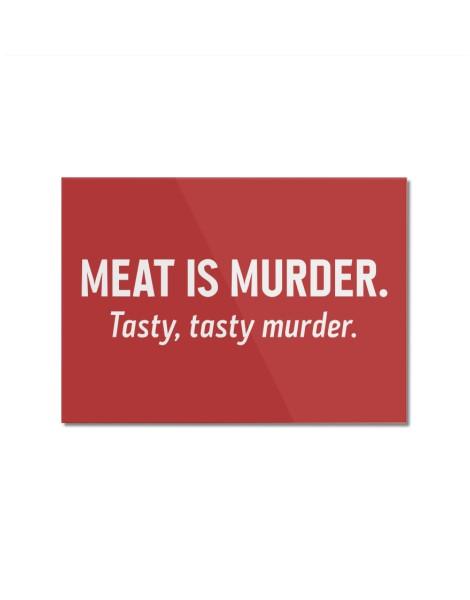 Meat is murder. Tasty, tasty murder. Hero Shot