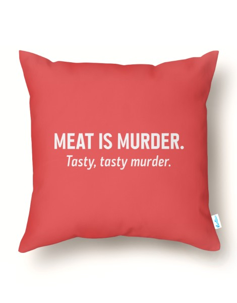 Meat is murder. Tasty, tasty murder. Hero Shot