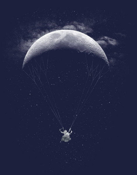 Parachute Moon Hero Shot