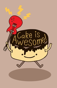 Cake Is Awesome!: Threadless Apron