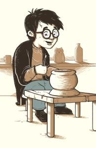 Harry the Potter Hero Shot
