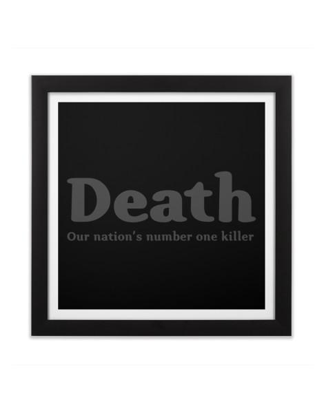 Death, our nation's number one killer Hero Shot