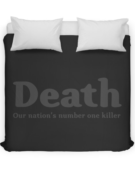 Death, our nation's number one killer Hero Shot