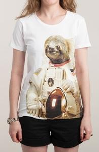 Astronaut Sloth Hero Shot