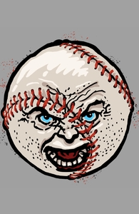 Angry Baseball Hero Shot