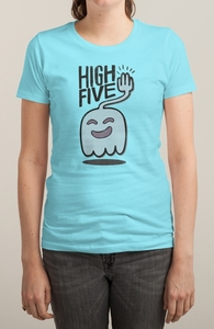 High Five Ghost Says High Five Hero Shot