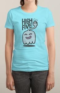 High Five Ghost Says High Five Hero Shot