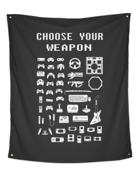 Choose Your Weapon: Gamers Hero Shot