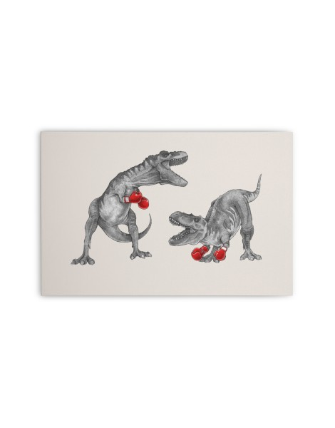 T-Rex Boxing Hero Shot
