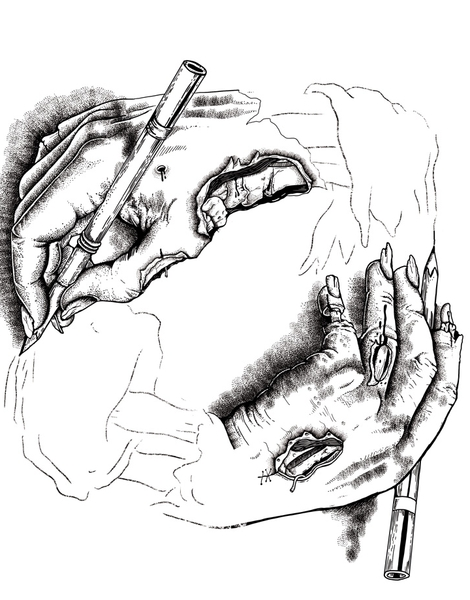 Self Made Zombie. Hero Shot