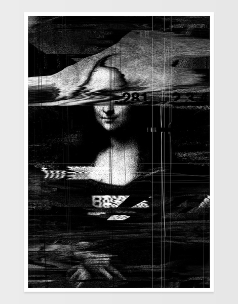 Mona Lisa Glitch Hero Shot