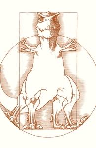 Vitruvian T-Rex Hero Shot