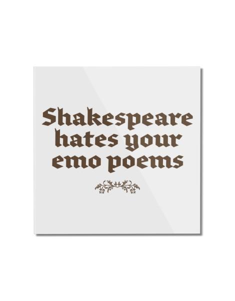 Shakespeare hates your emo poems Hero Shot