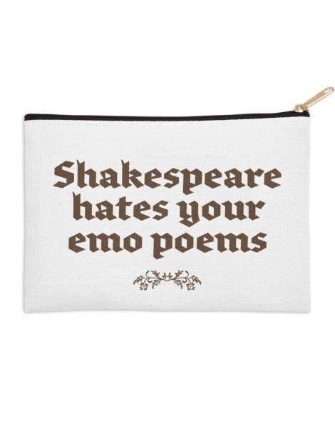 Shakespeare hates your emo poems Hero Shot