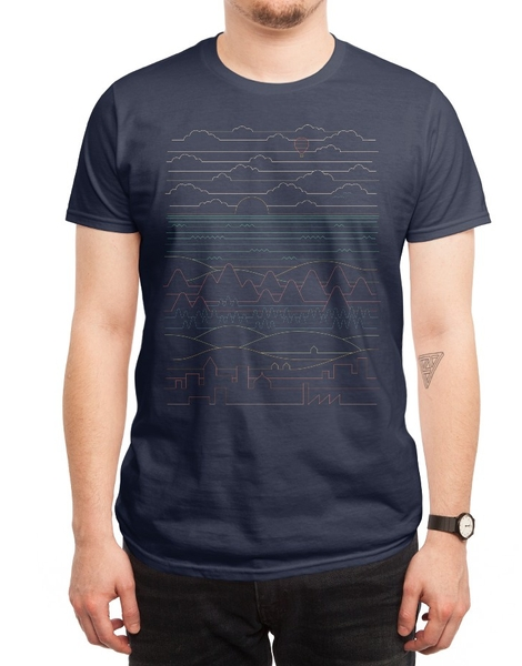 Cool Patterns Mens T-Shirt Designs on Threadless
