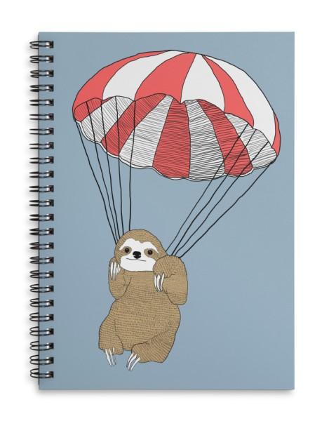 Parachuting Sloth Hero Shot