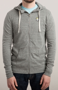 Even Kings Fall: Guys Lightweight Zip Hoody Hero Shot