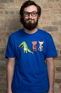 A is for Jerks!, Guys Tees + Threadless Collection