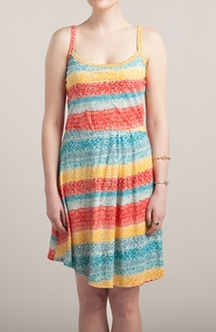 Sketch Me With Color: Girly Pima / Modal Tank Dress Hero Shot