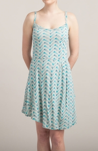Moody Malibu Mayhem: Girly Pima / Modal Tank Dress Hero Shot
