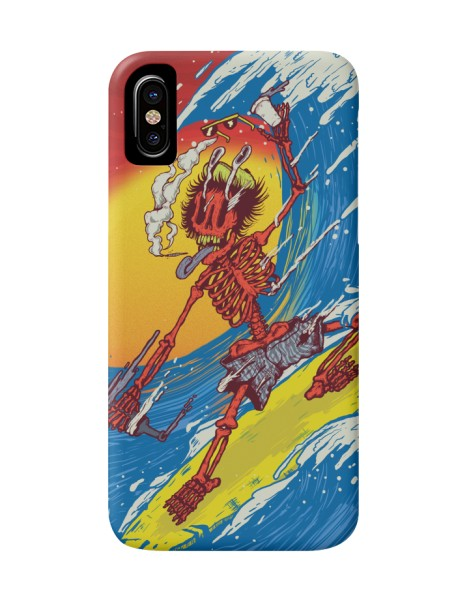 Skull Surfer Hero Shot