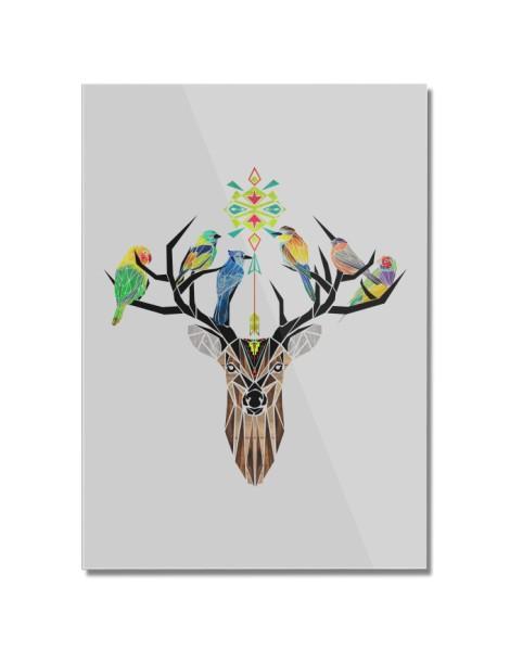 Deer Birds Hero Shot