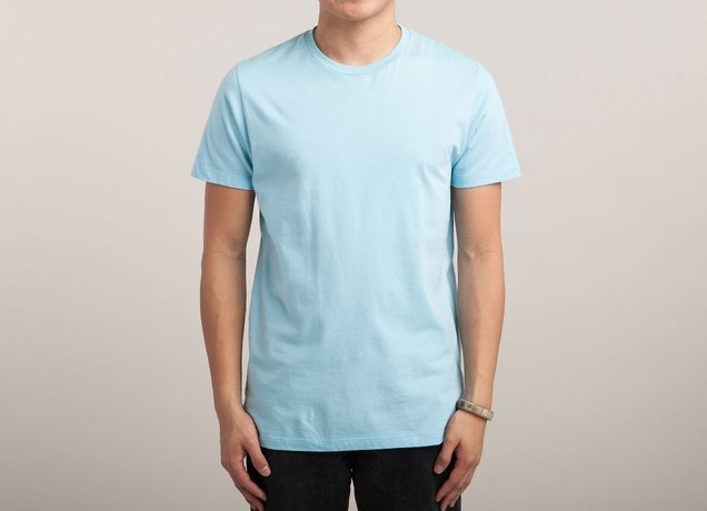 Light blue t shirt by on mens t shirts threadless Light blue t shirt mens