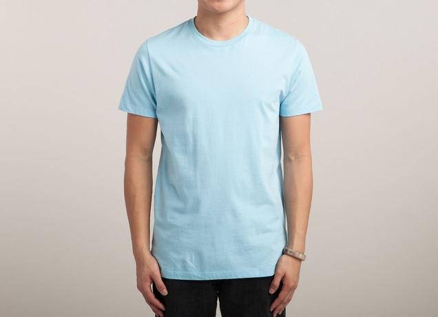 Light blue t shirt by on mens t shirts threadless Light blue t shirt mens