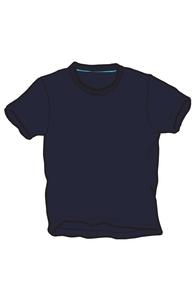 Navy T-Shirt Hero Shot